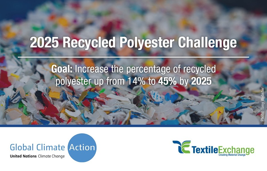 Textile Exchange and Fashion Industry Charter for Climate Action 2025 Recycled Polyester Challenge 1