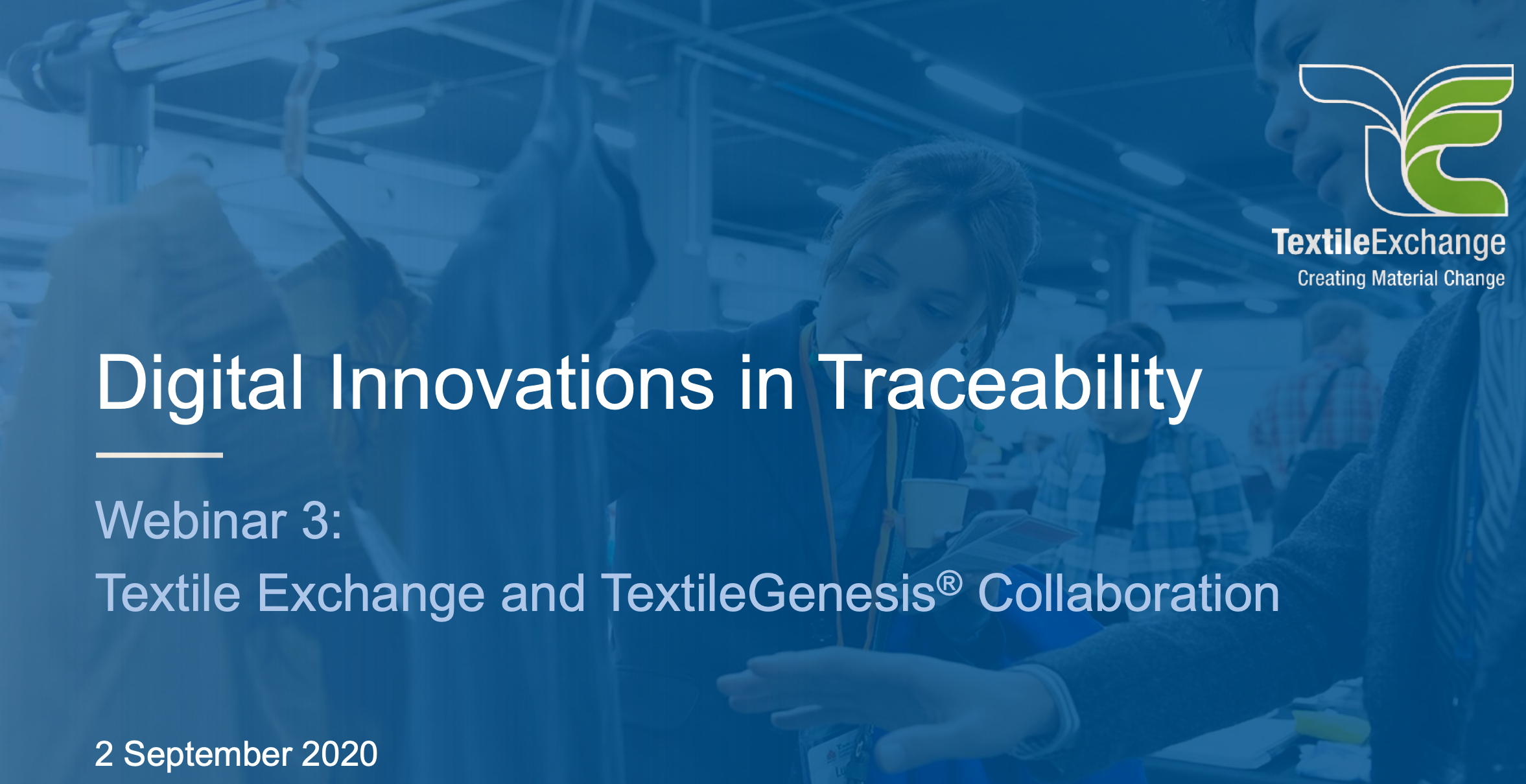 Innovations in Traceability