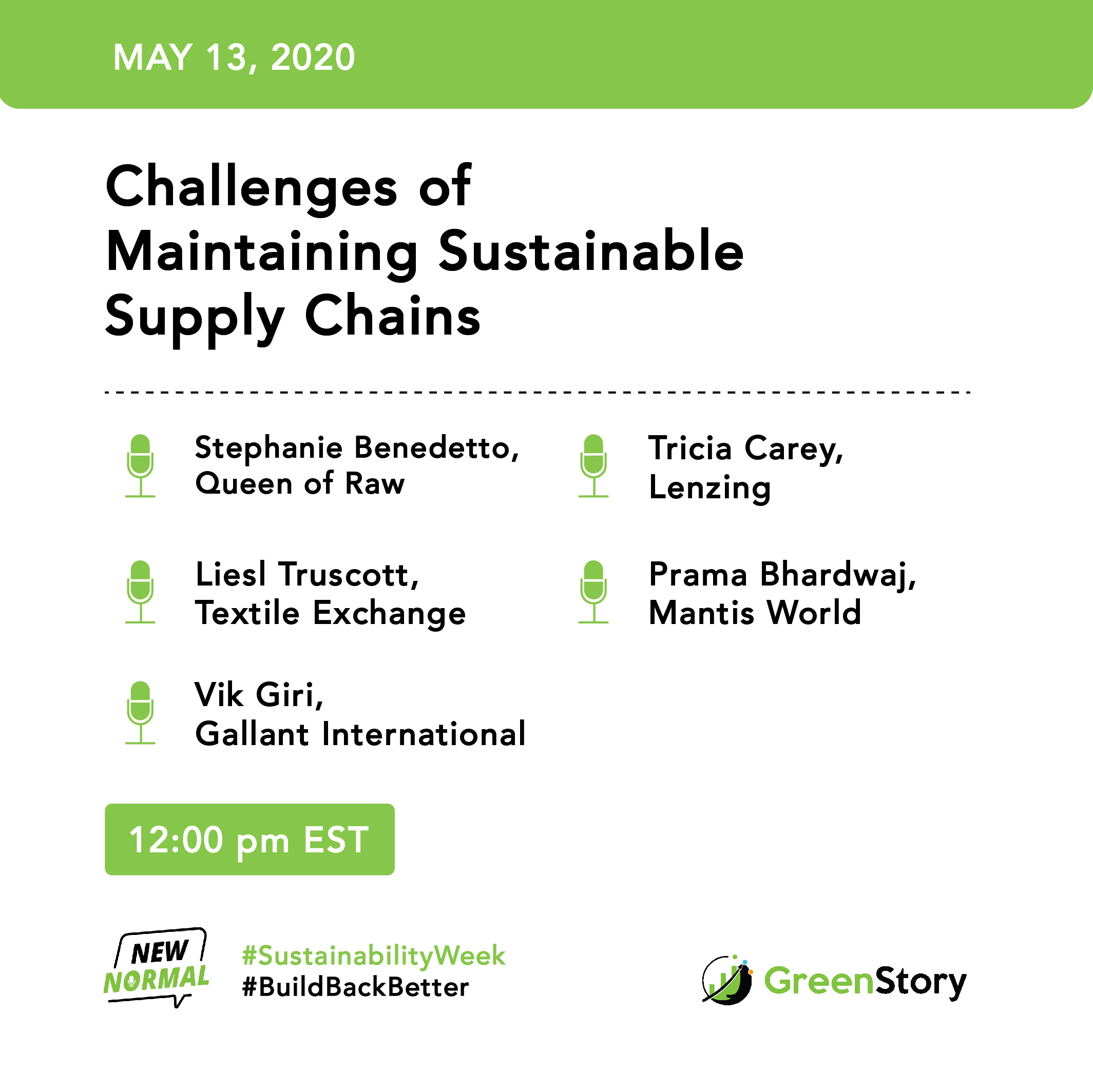 Webinar: Challenges of maintaining sustainable supply chains 1