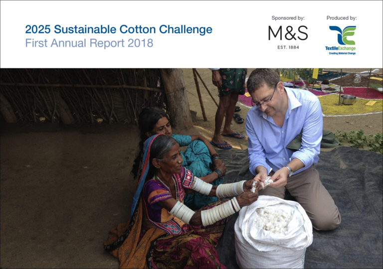 Textile Exchange Releases First Annual 2025 Sustainable Cotton Challenge Report 1