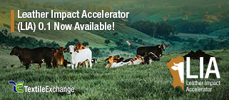 Textile Exchange Launches the Leather Impact Accelerator (LIA) 0.1 1