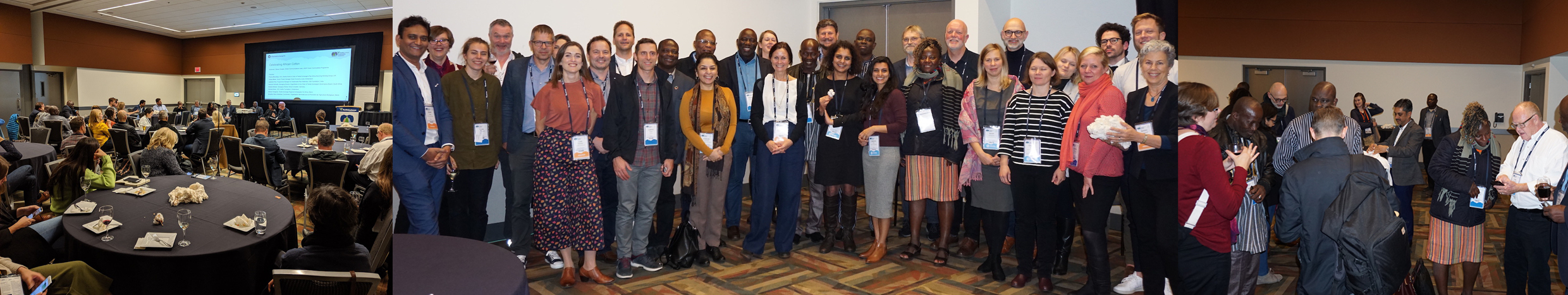 Network Meeting in Vancouver celebrating African Cotton